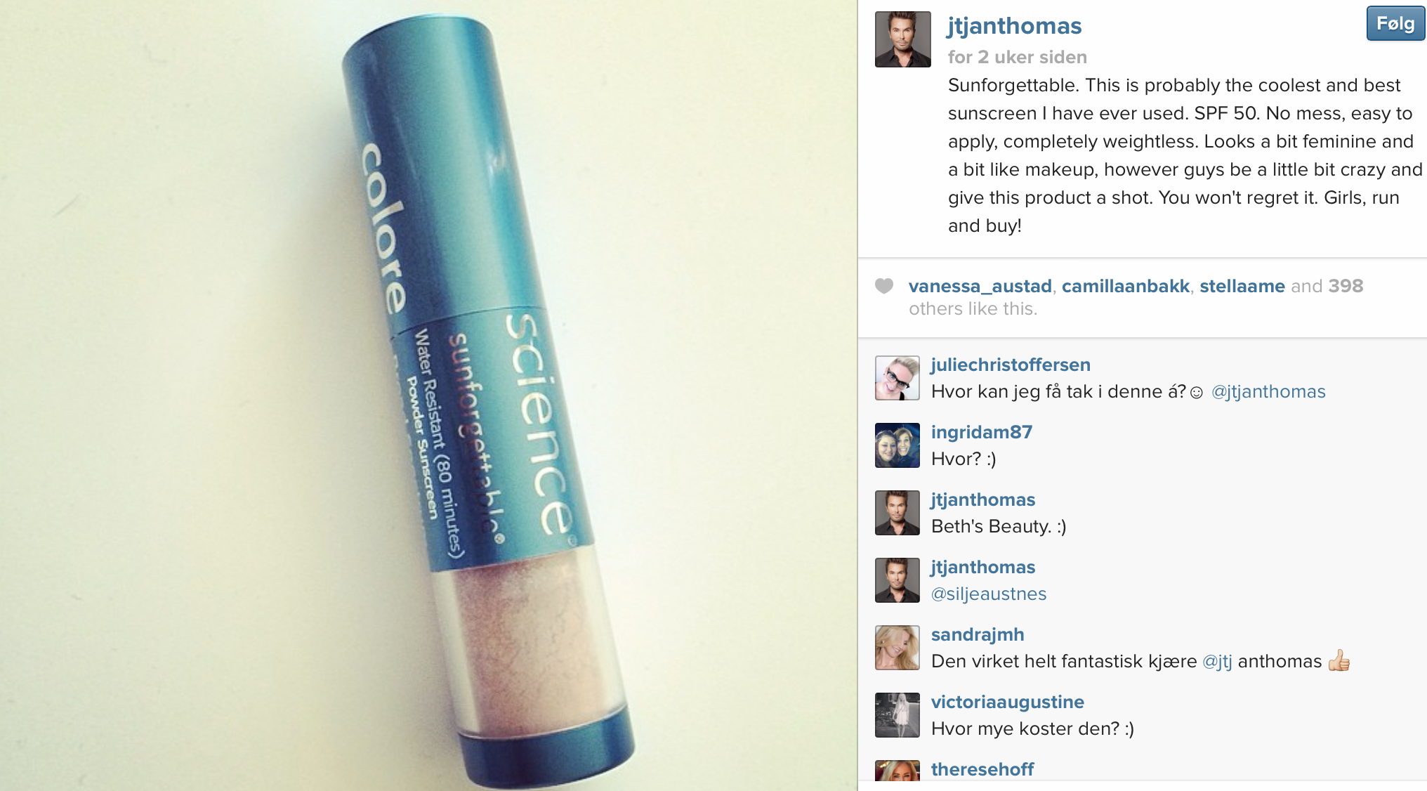 Colorescience sunforgettable mineral sunscreen