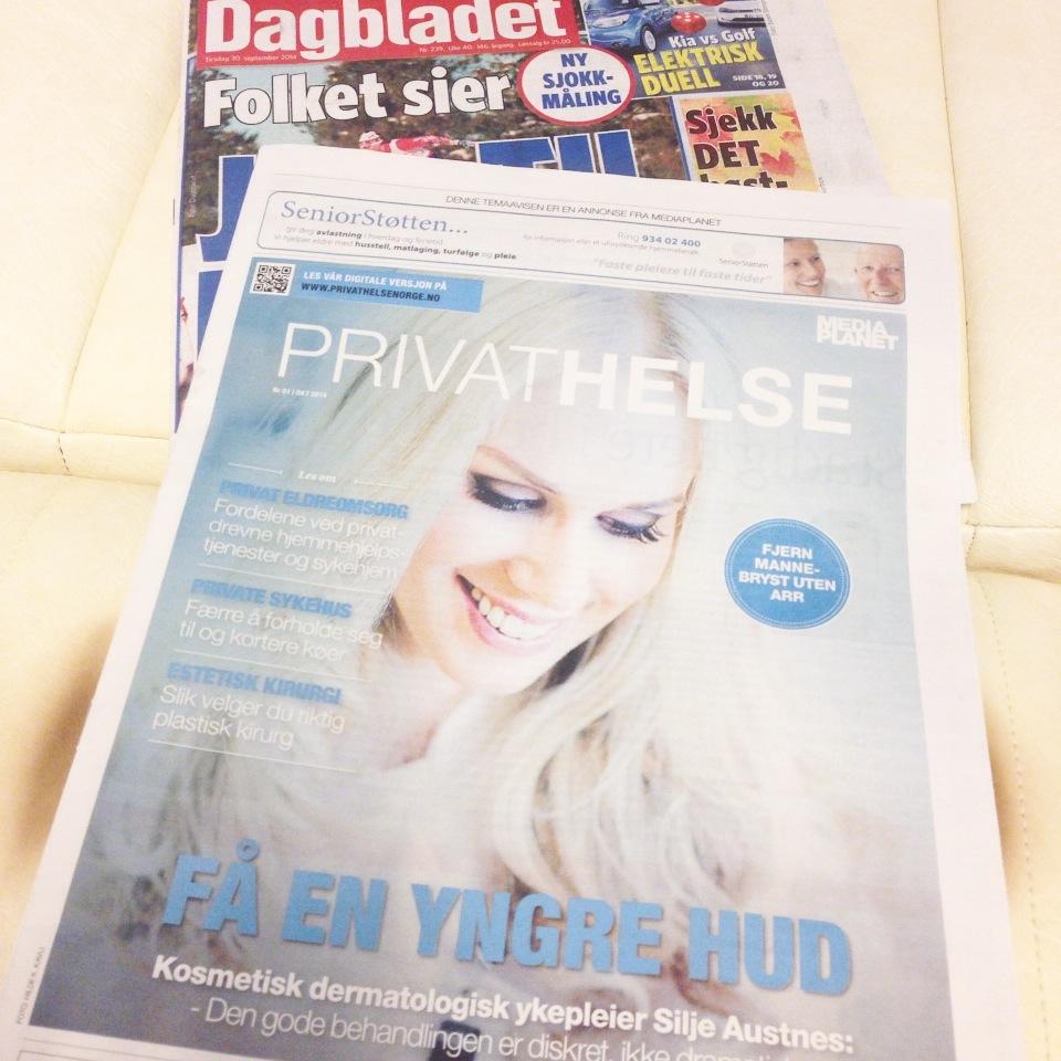 Privat helse (Dagbladet): Å forynge huden - blir stadig mer naturlig